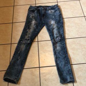 Men's Black brand skinny jeans